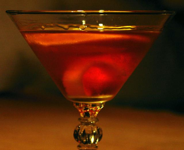 Close-up of Ed Dexter Cocktail